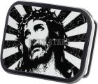 B/W Jesus Belt Buckle