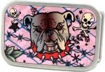 Trust No One Bulldog Belt Buckle