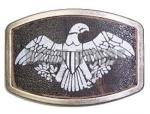Printed Eagle Belt Buckle